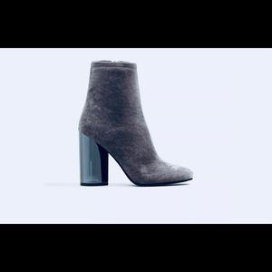 ALDO Cassydie Grey Ankle Boots/Booties